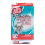 Simple solution wegwerp honden luier (SMALL 12 ST 38-48 CM)