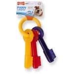 Nylabone puppy chew bijtsleutels baconsmaak (TOT 16 KG)