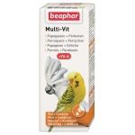 Beaphar multi-vit papegaai en grote parkieten (50 ML)