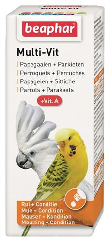 Beaphar multi-vit papegaai en grote parkieten