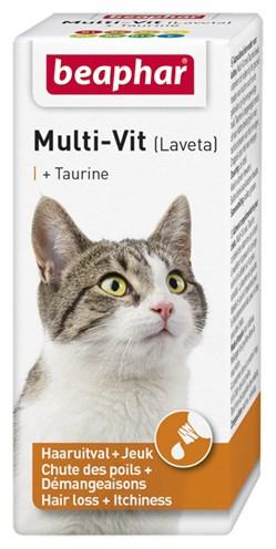 Beaphar multi-vit laveta kat met taurine (20 ML)