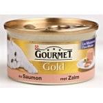 Gourmet gold fijne mousse zalm (24X85 GR)