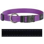Rogz for dogs lumberjack halsband zwart (25 MMX43-73 CM)