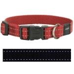 Rogz for dogs snake halsband zwart (16 MMX26-40 CM)