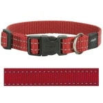 Rogz for dogs snake halsband rood (16 MMX26-40 CM)