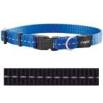 Rogz for dogs nitelife halsband zwart (11 MMX20-32 CM)