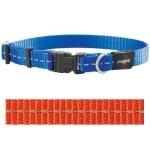 Rogz for dogs nitelife halsband oranje (11 MMX20-32 CM)