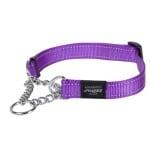 Rogz for dogs lumberjack choker paars (25 MMX43-73 CM)
