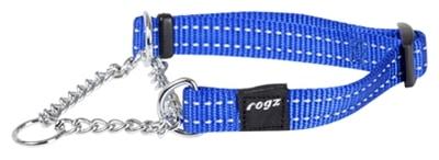 Rogz for dogs snake choker blauw (16 MMX32-44 CM)