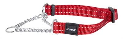 Rogz for dogs snake choker rood (16 MMX32-44 CM)