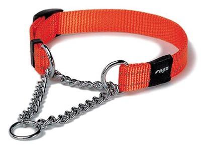 Rogz for dogs snake choker oranje (16 MMX32-44 CM)