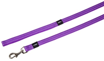 Rogz for dogs snake lijn paars (16 MMX1,4 MTR)