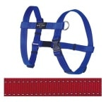 Rogz for dogs fanbelt tuig rood (20 MMX45-75 CM)