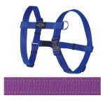 Rogz for dogs fanbelt tuig paars (20 MMX45-75 CM)
