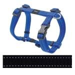 Rogz for dogs snake tuig zwart (16 MMX32-52 CM)