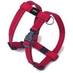 Rogz for dogs snake tuig rood (16 MMX32-52 CM)