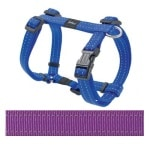 Rogz for dogs snake tuig paars (16 MMX32-52 CM)