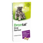 Bayer drontal tasty ontworming hond (6 TABLETTEN)