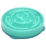 Voerbak slo-bowl feeder drop teal lichtblauw (29X29X7 CM)