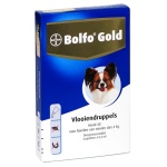 Bolfo gold hond vlooiendruppels (40 2 PIPET)