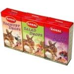 Sanal knaagdier 3-pack drops yogurt/salad/wild berry (3X45 GR)