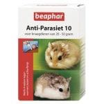 Beaphar anti-parasiet 10 knaagdier (20-50 GR)