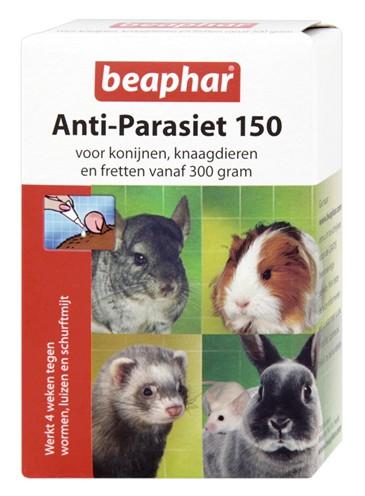 Beaphar anti-parasiet 150 knaagdier (4 PIP)