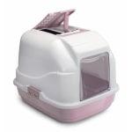 Imac kattenbak easy cat roze (50X40X40 CM)