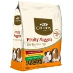 Burgess country value fruity nuggets guinea pig (10 KG)