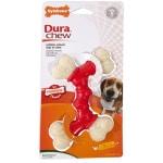 Nylabone extreme chew voor harde bijters baconsmaak (TOT 16 KG 14X9,5X2 CM)