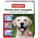 Beaphar vlooien anticonceptie (GROTE HOND 21-40 KG)