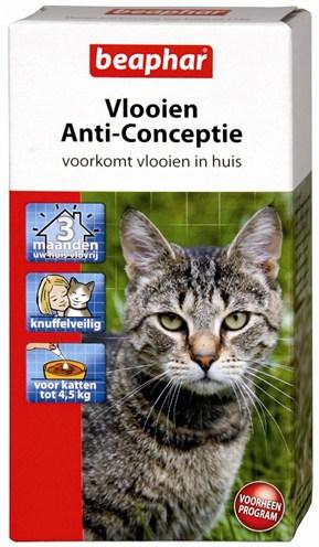Beaphar vlooien anti-conceptie kat (TOT 4,5 KG)