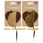 Jolly moggy natural wild speelmuis groot met catnip assorti
