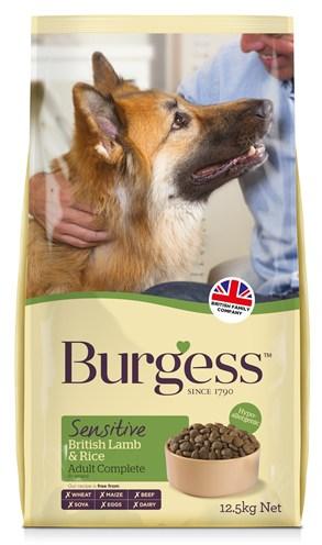 Burgess dog sensitive brits lam / rijst