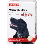 Beaphar wormtablet all-in-one hond (2,5-20 KG 2 TBL)
