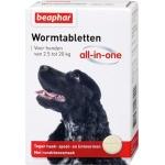 Beaphar wormtablet all-in-one hond (2,5-20 KG 2 TBL)