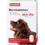 Beaphar wormtablet all-in-one hond (17,5-70 KG 2 TBL)