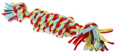 Twist-tee coil tugger touw