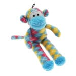 Multipet pluche sock monkey assorti (31X13X6 CM)