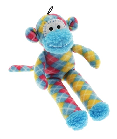 Multipet pluche sock monkey assorti