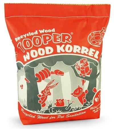 Tooper houtkorrel (6,5 LTR)