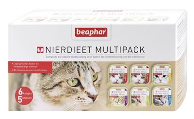 Beaphar nierdieet kat multipack (6X100 GR)