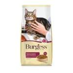 Burgess cat senior rijk aan kalkoen en cranberry (1,4 KG)