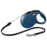Flexi rollijn classic cord blauw (S 8 MTR)