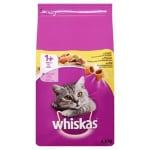 Whiskas droog adult kip (3,8 KG)