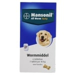 Mansonil hond all worm tabletten (6 ST)
