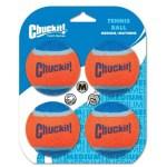 Chuckit tennisbal (MEDIUM 6 CM 4 ST)