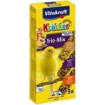 Vitakraft kanarie kracker honing/fruit/ei (3 IN 1)