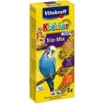 Vitakraft parkiet kracker honing/fruit/ei (3 IN 1)
