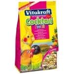 Vitakraft grote parkiet/agapornissen coctail frutti (250 GR)